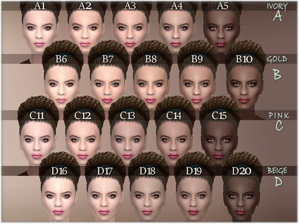 Tahani facemask by BAkalia at TSR image 952 Sims 4 Updates
