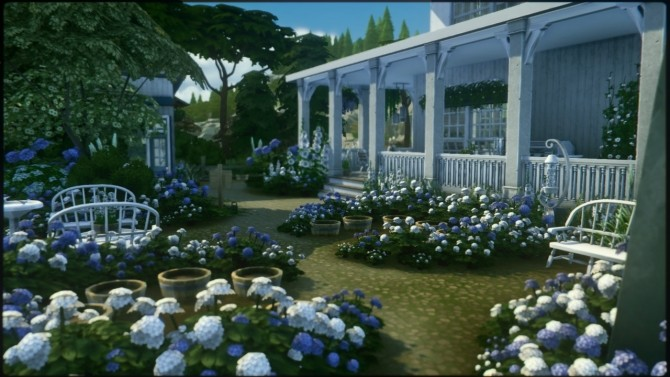 Hydrangea Pasture home at a winged llama image 956 670x377 Sims 4 Updates