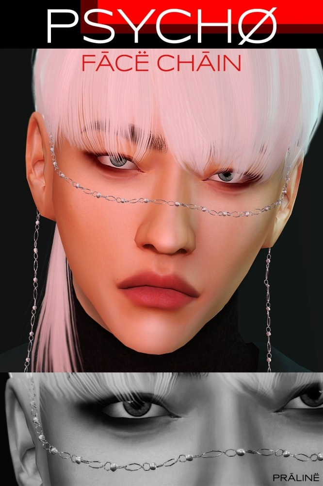 Face chain at Praline Sims image 9619 666x1000 Sims 4 Updates