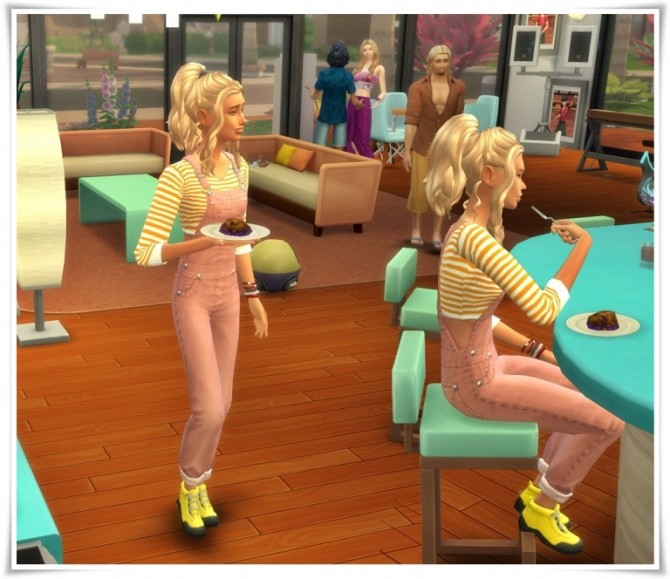 Sims 4 Uni Overall Tank at Birksches Sims Blog