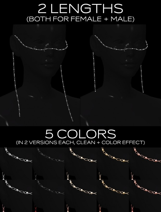 Face chain at Praline Sims image 9718 670x881 Sims 4 Updates
