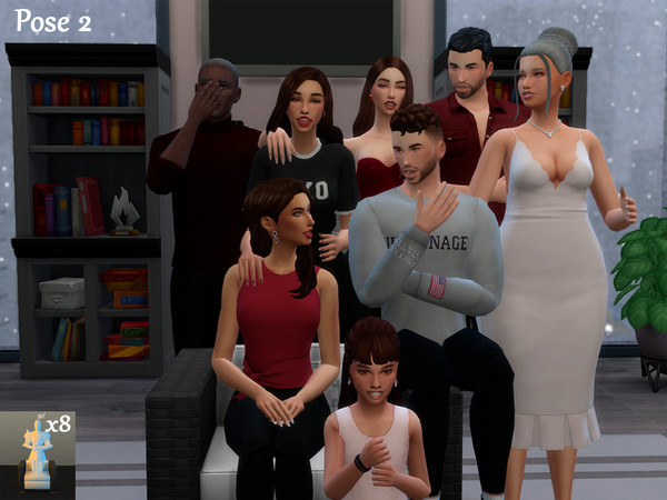 Family Pose Pack by Beto ae0 at TSR image 980 Sims 4 Updates