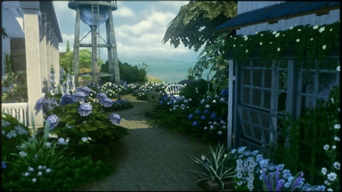 Hydrangea Pasture home at a winged llama image 986 670x377 Sims 4 Updates