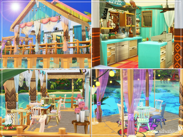Sea Breeze Restaurant by Xandralynn at TSR image 1007 Sims 4 Updates