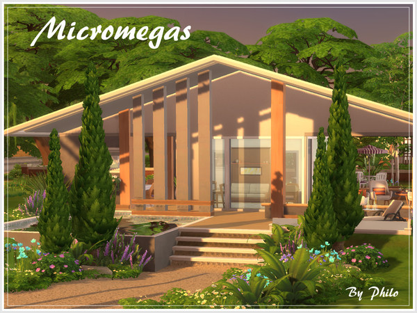 Micromegas house by philo at TSR image 1029 Sims 4 Updates