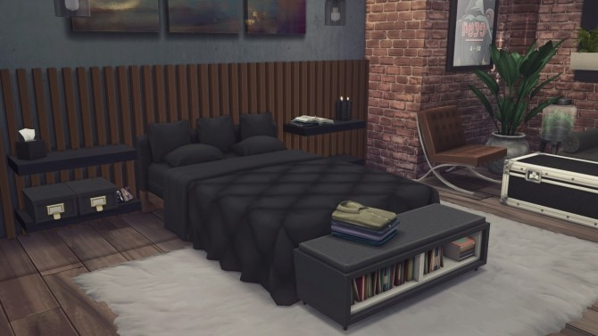 Sims 4 The Loft at Harrie