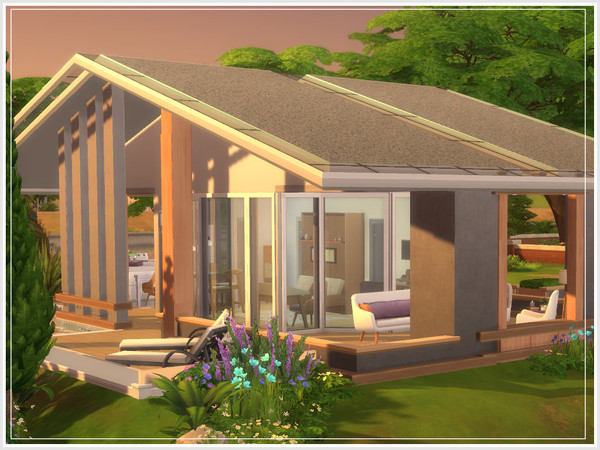 Micromegas house by philo at TSR image 1035 Sims 4 Updates