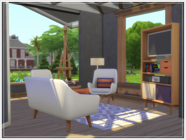 Micromegas house by philo at TSR image 1057 Sims 4 Updates