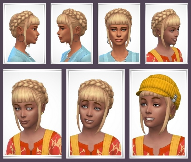 Sims 4 Lucy Hair at Birksches Sims Blog