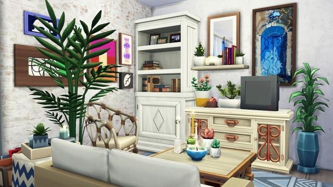 BOHO ROOMMATES DREAM APARTMENT at Aveline Sims » Sims 4 ...