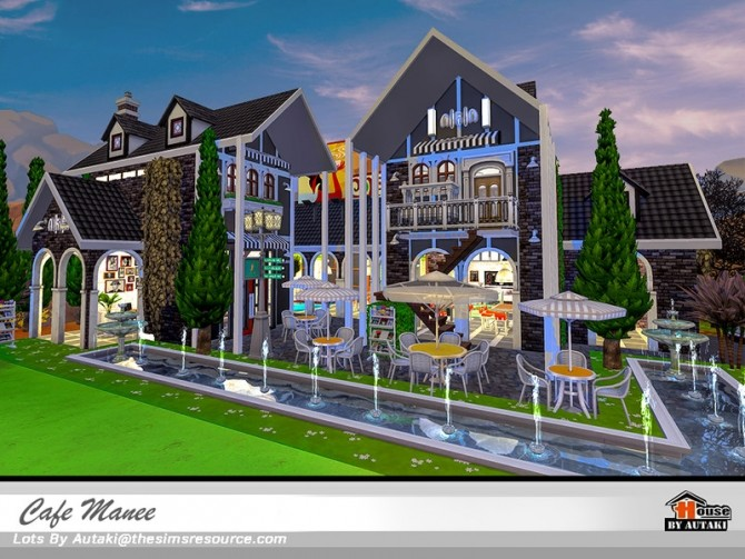 Cafe Manee by autaki at TSR image 10714 670x503 Sims 4 Updates