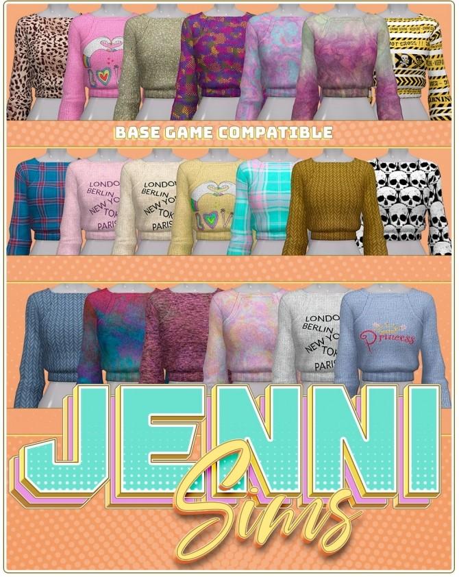 Sims 4 BGC Sweater at Jenni Sims