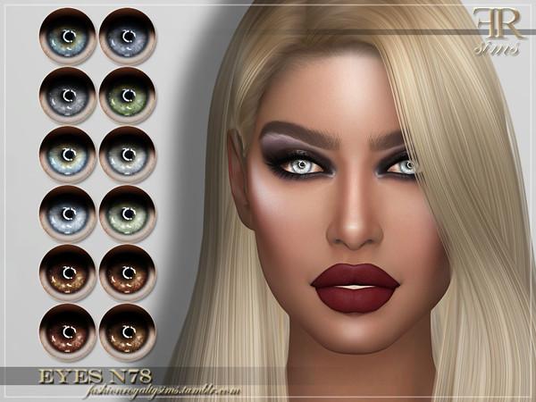 Sims 4 FRS Eyes N78 by FashionRoyaltySims at TSR