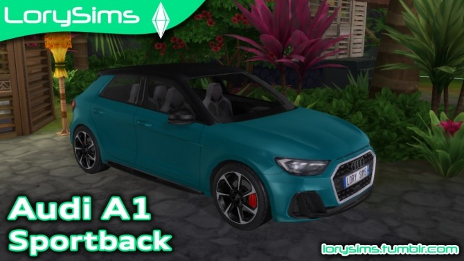 Audi A1 Sportback at LorySims image 108 670x377 Sims 4 Updates