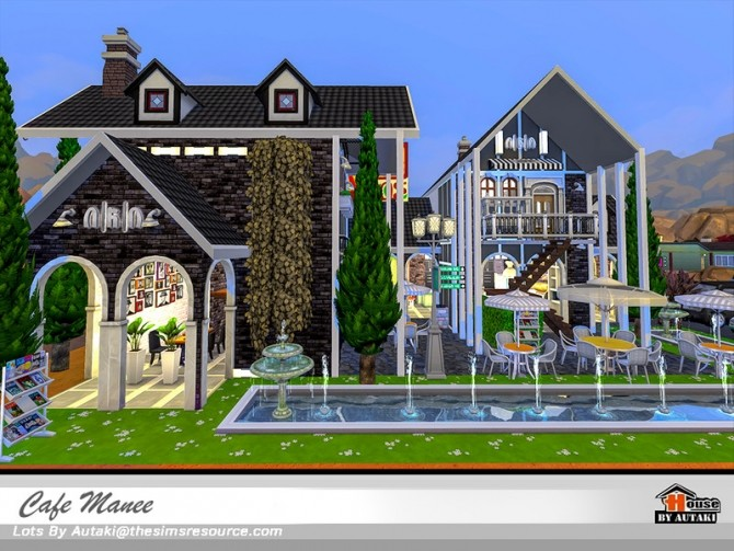 Cafe Manee by autaki at TSR image 10816 670x503 Sims 4 Updates