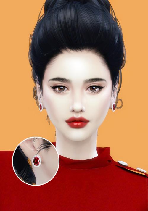 Sims 4 Birthstone Earrings at Ahri Sim4