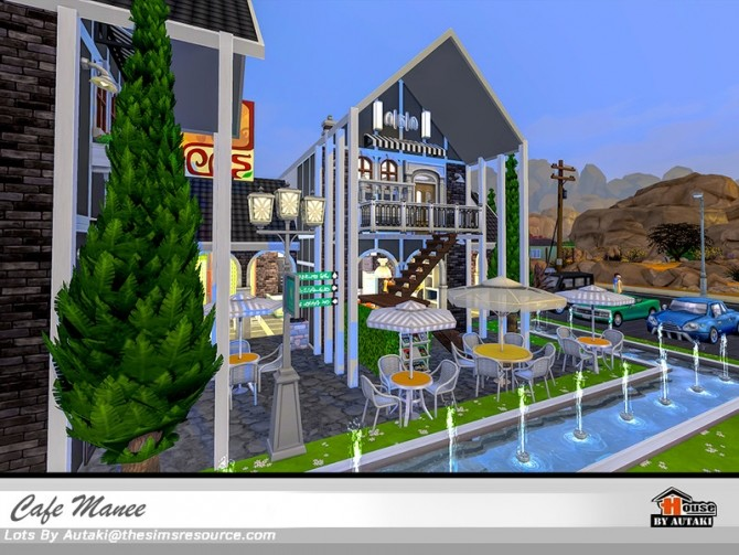 Cafe Manee by autaki at TSR image 10917 670x503 Sims 4 Updates
