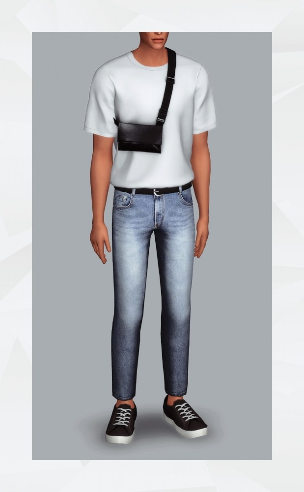 Belted Jeans at Gorilla image 11010 619x1000 Sims 4 Updates