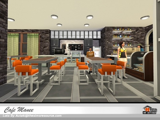 Cafe Manee by autaki at TSR image 11020 670x503 Sims 4 Updates