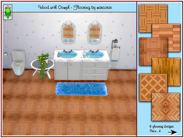 Wood with Oomph Flooring by marcorse at TSR image 1110 Sims 4 Updates