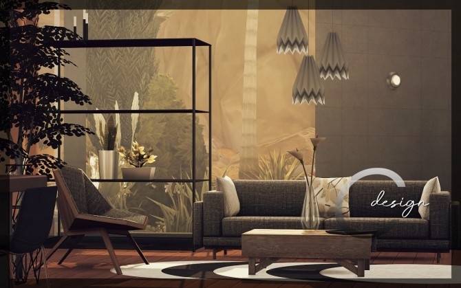 Sims 4 EVOX house at Cross Design