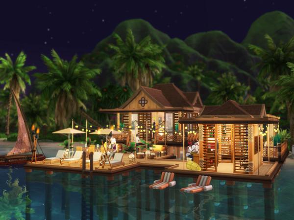 Waterfront Restaurant by Bidomaudo at TSR image 1149 Sims 4 Updates