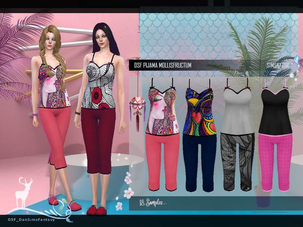 Sims 4 DSF PIJAMA MOLLISFRUCTUM by DanSimsFantasy at TSR