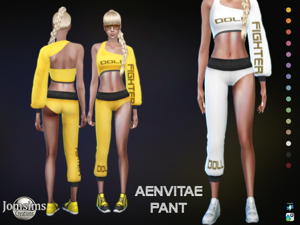 Sims 4 Aenvitae pant by jomsims at TSR