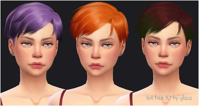 Sims 4 Hair 32 (P) at All by Glaza