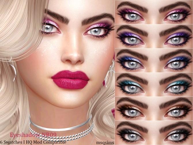 Sims 4 Eyeshadow NB09 at MSQ Sims