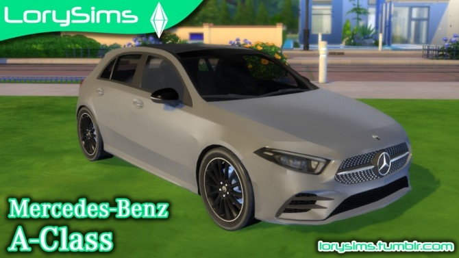 Mercedes Benz A Class at LorySims image 118 670x377 Sims 4 Updates