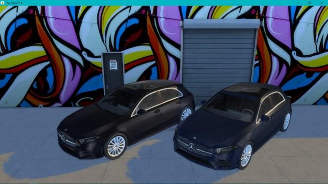 Mercedes Benz A Class at LorySims image 119 670x377 Sims 4 Updates