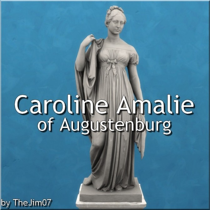 Sims 4 Caroline Amalie of Augustenburg by TheJim07 at Mod The Sims