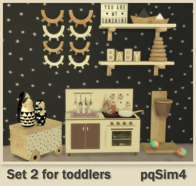 Sims 4 Set 2 for todddlers at pqSims4
