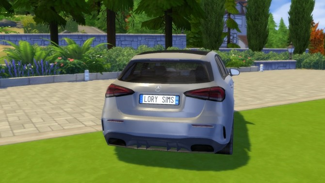 Mercedes Benz A Class at LorySims image 120 670x377 Sims 4 Updates