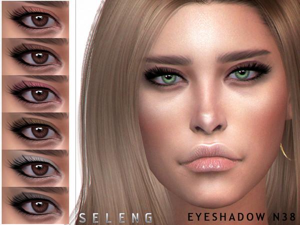 Sims 4 Eyeshadow N38 by Seleng at TSR
