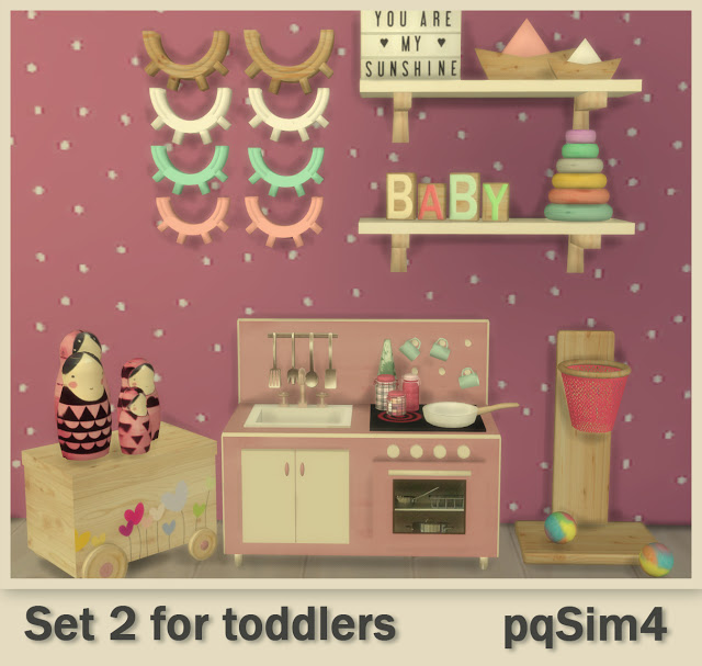 Set 2 for todddlers at pqSims4 image 1209 Sims 4 Updates