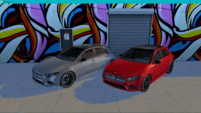 Mercedes Benz A Class at LorySims image 121 670x377 Sims 4 Updates