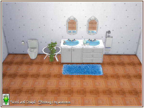 Wood with Oomph Flooring by marcorse at TSR image 1210 Sims 4 Updates