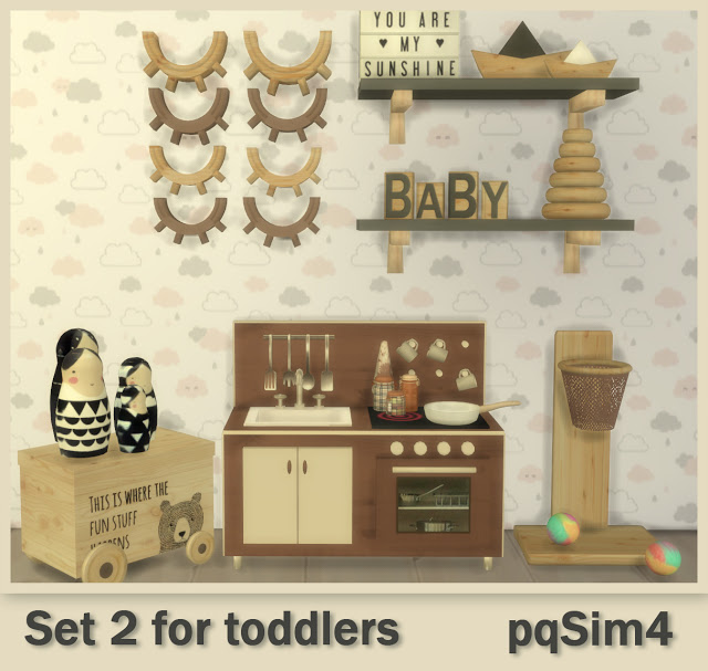 Set 2 for todddlers at pqSims4 image 12113 Sims 4 Updates