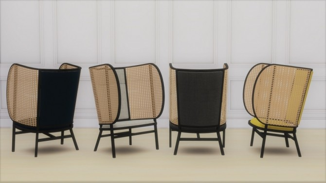 HIDEOUT LOUNGE CHAIR at Meinkatz Creations image 12315 670x377 Sims 4 Updates