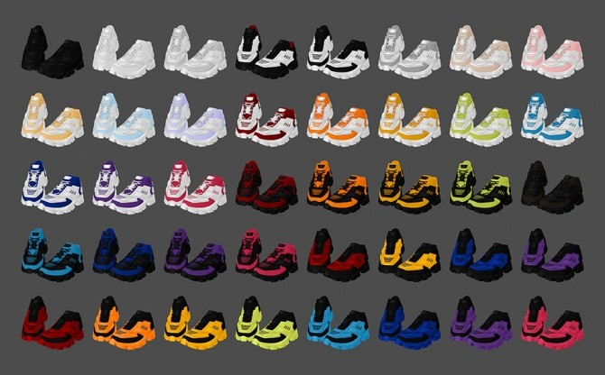 CB Thunder Sneakers at MMSIMS image 12319 670x416 Sims 4 Updates