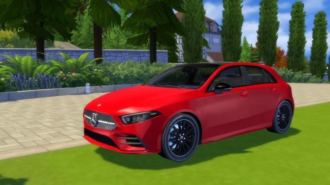 Mercedes Benz A Class at LorySims image 124 670x377 Sims 4 Updates
