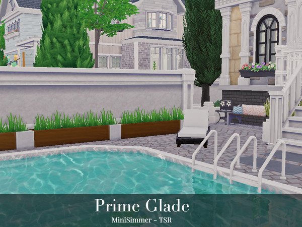 Sims 4 Prime Glade townhouse by Mini Simmer at TSR