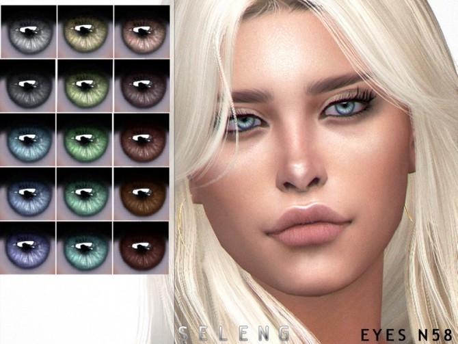 Eyes N58 by Seleng at TSR image 12415 670x503 Sims 4 Updates