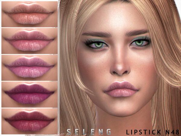 Sims 4 Lipstick N48 by Seleng at TSR