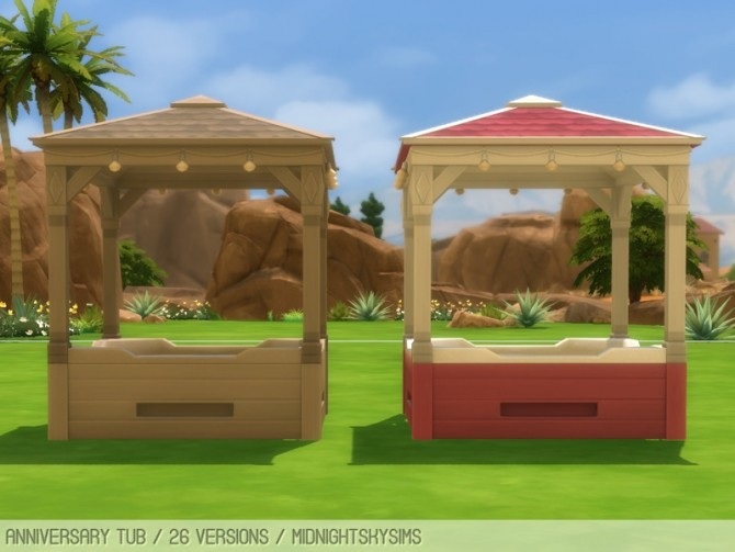 Anniversary tub recolors at Midnightskysims image 1303 670x503 Sims 4 Updates