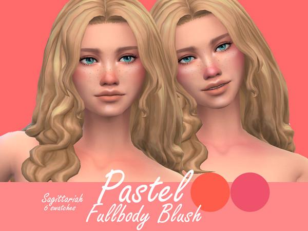 Sims 4 Pastel Blush by Sagittariah at TSR