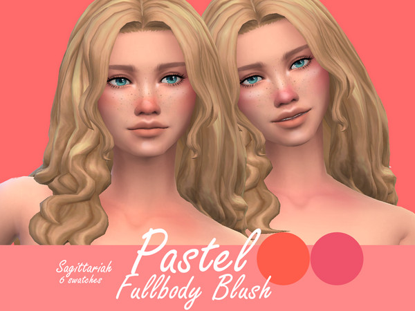 Pastel Blush by Sagittariah at TSR image 1313 Sims 4 Updates