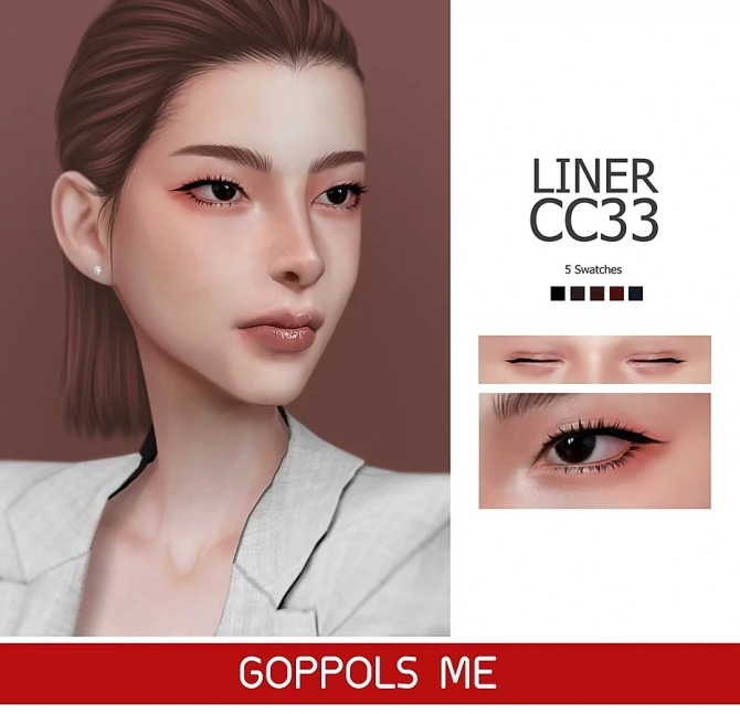Sims 4 GPME Liner cc33 at GOPPOLS Me